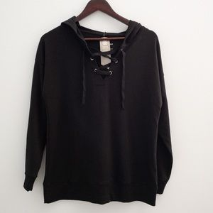 NWT Daisy Fuentes Fit Hoodie